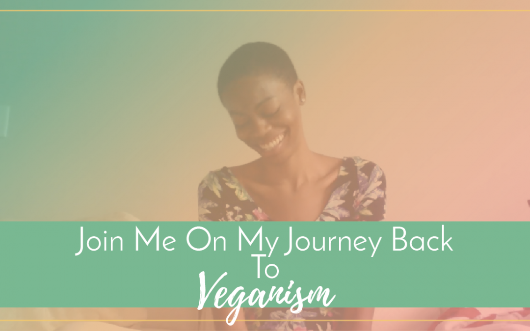 Join Me On My Journey Back To Veganism